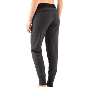 Lululemon Happy Yin Year Sweatpant Heathered Black